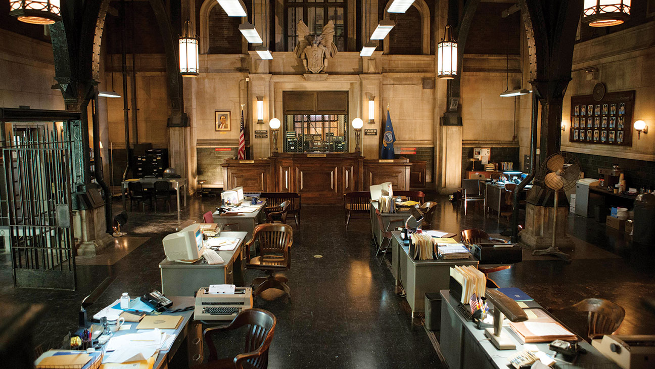 Emmy Production Design Gotham Bullpen - H 2015