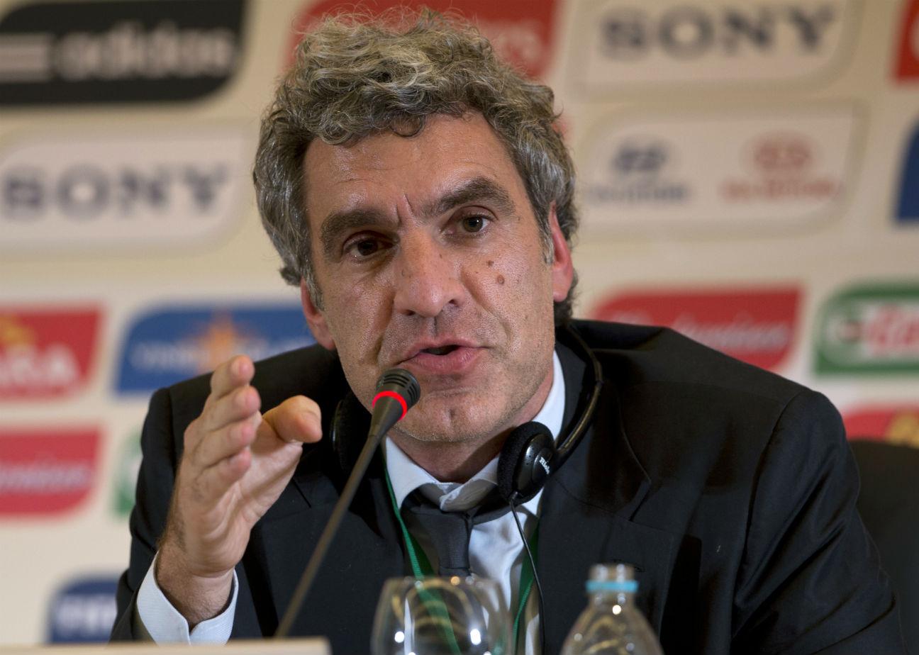 FIFA Communications Director Walter De Gregorio