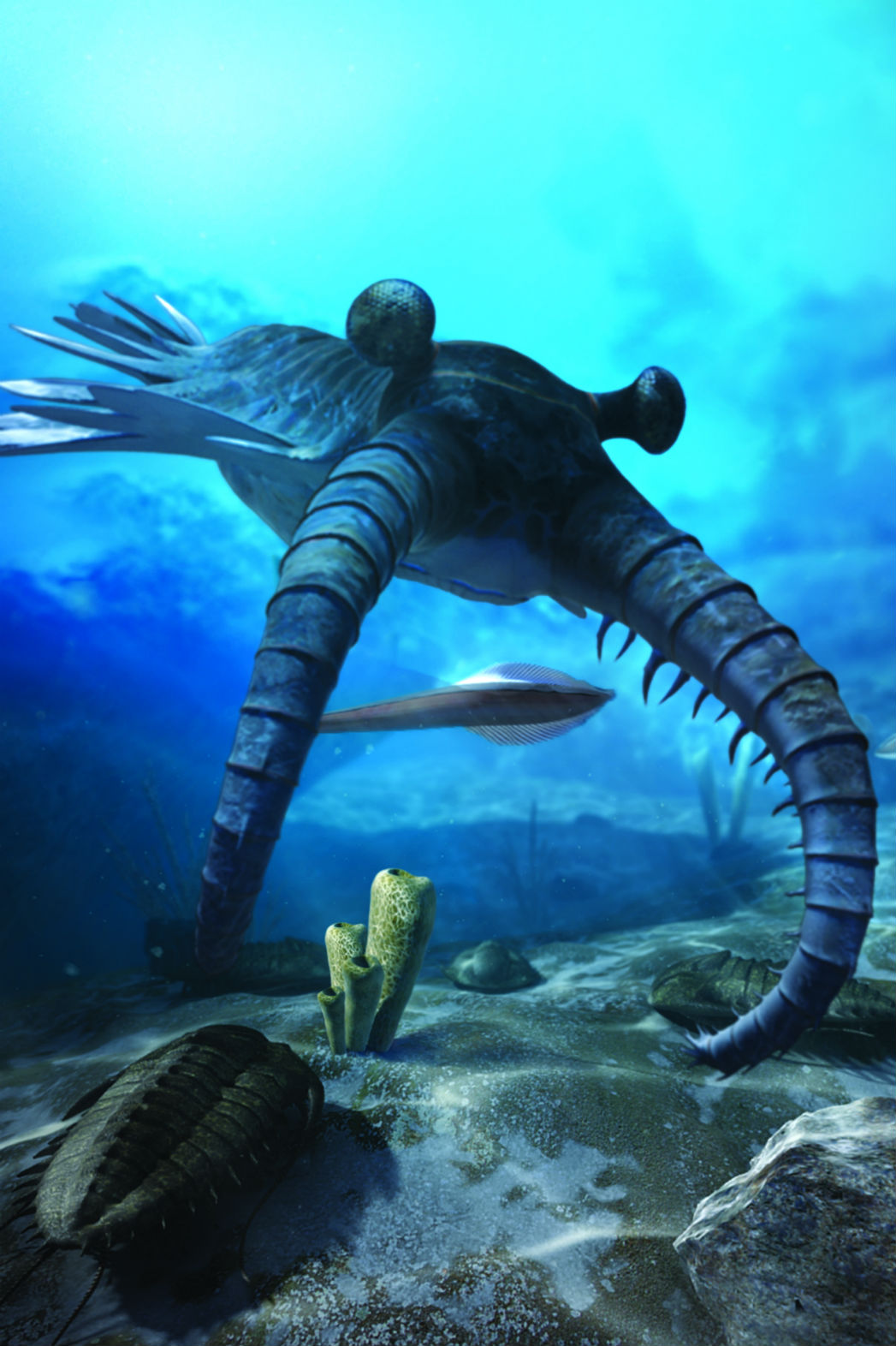 'First Life' Virtual Reality Documentary at London's Natural History Museum still - P 2015