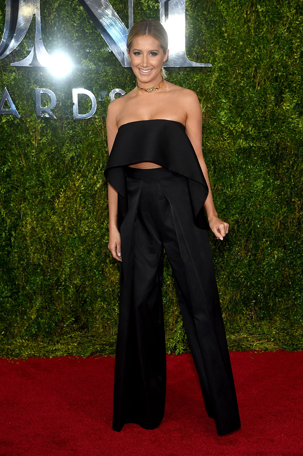 Ashley Tisdale Tonys Red Carpet - P 2015