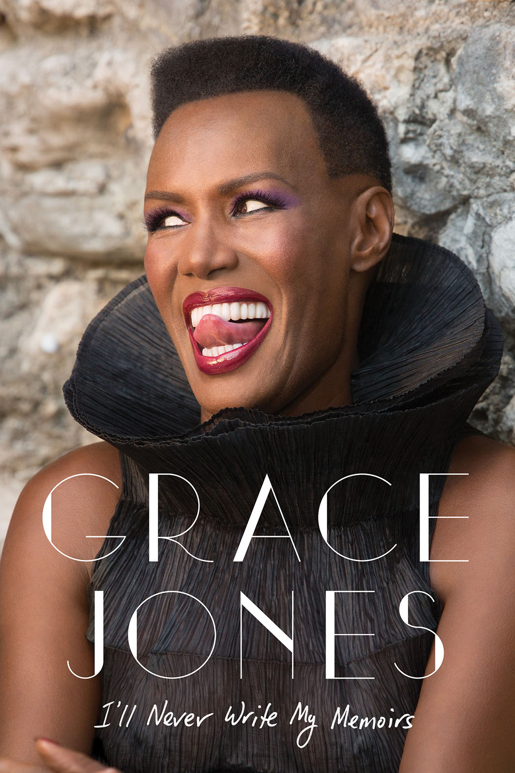 Grace Jones Memoir Cover - P 2015