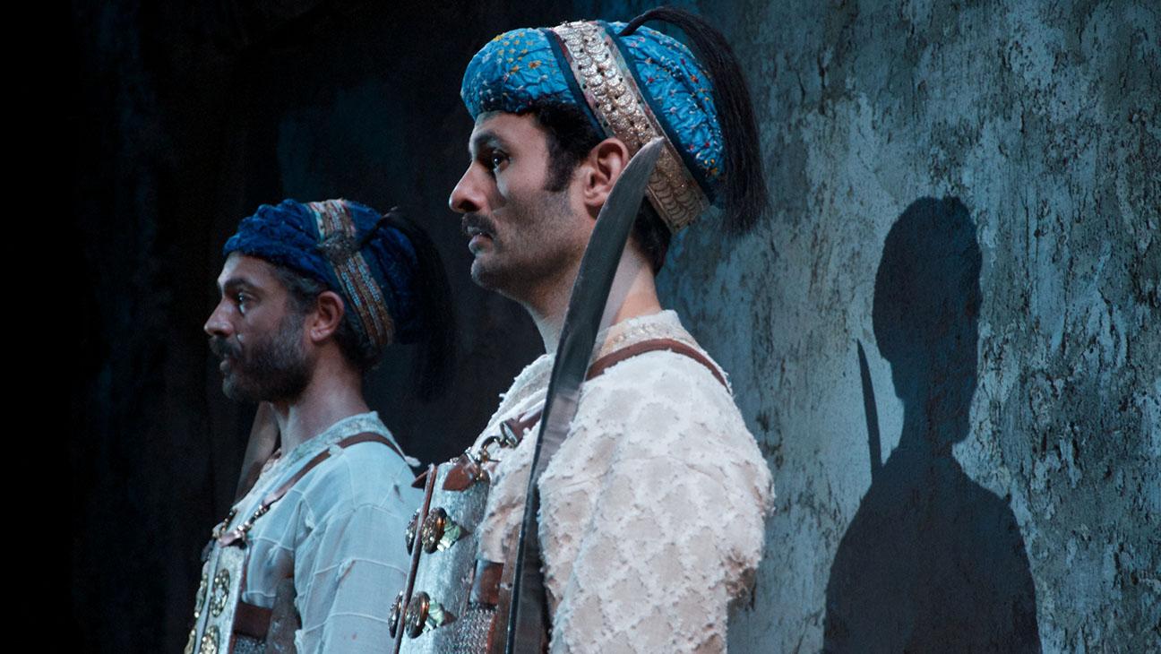 Guards at the Taj Production Still - H 2015