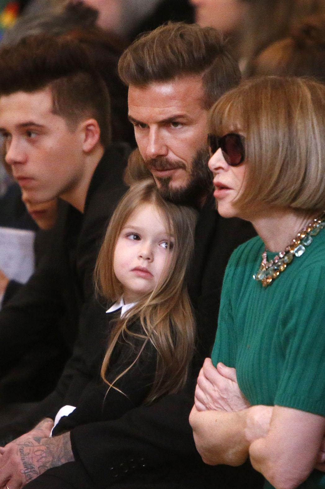 Harper and David Beckham 2 - P 2015