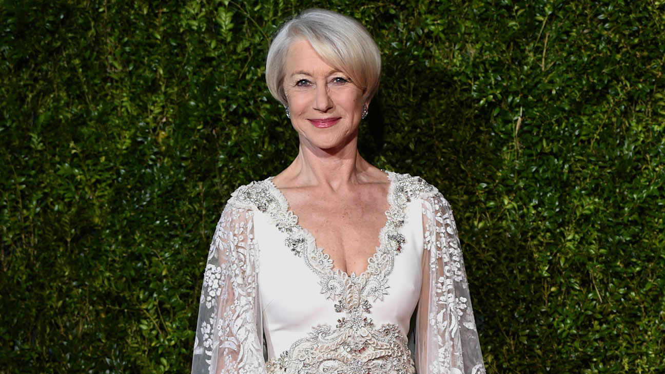 Helen Mirren Tony Awards Red Carpet - P 2015