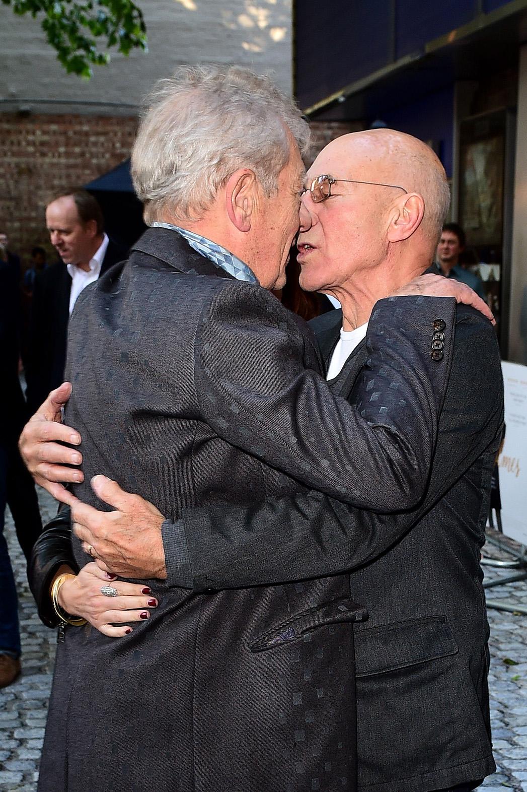 Ian McKellen and Patrick Stewart - P 2015