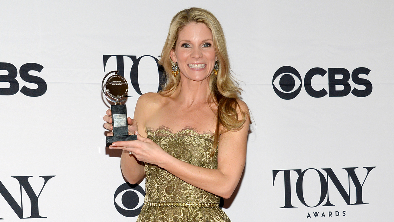 Kelli O'Hara Tony Winner Room H 2015