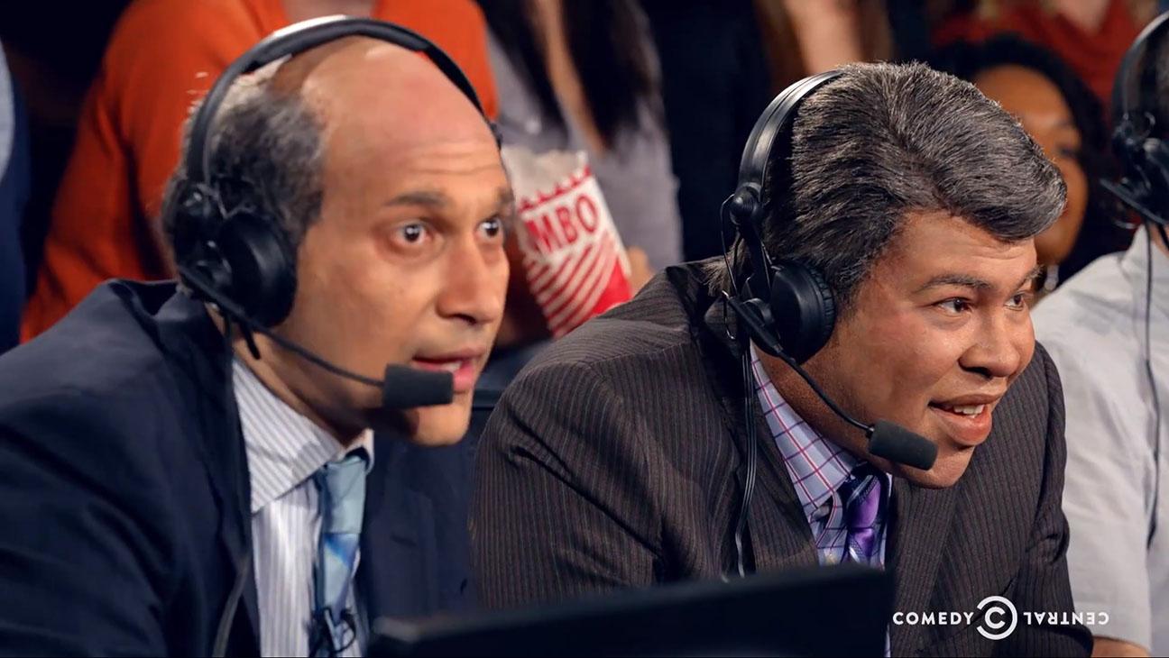 Key & Peele Basketball Commentary Still - H 2015