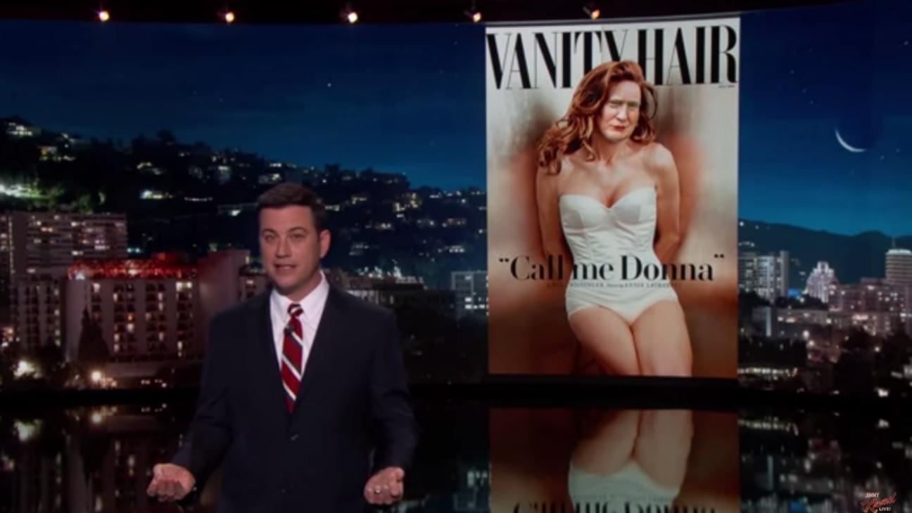 Jimmy Kimmel Mocks Donald Trump - H 2015