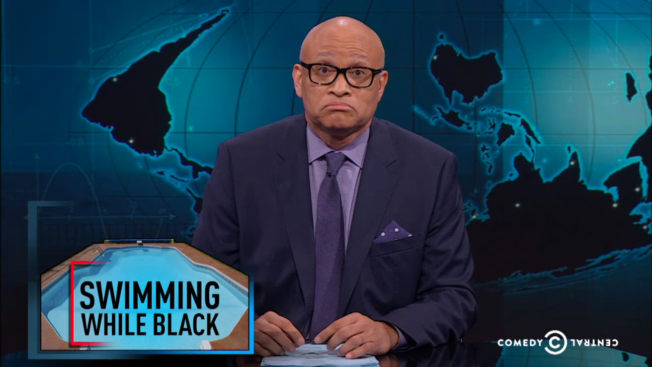 Larry Wilmore Swimming While Black - H 2015