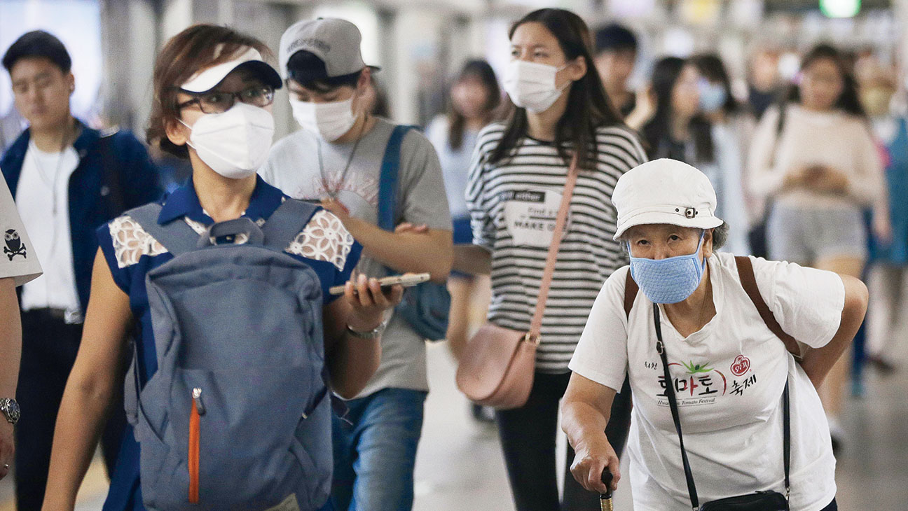 Mask for MERS South Korea - H 2015