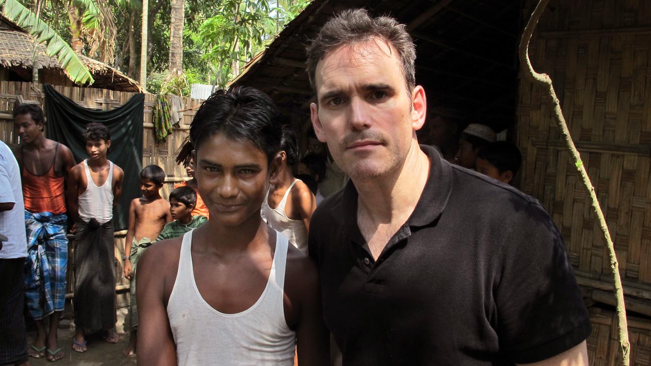 Matt Dillon Myanmar - H 2015