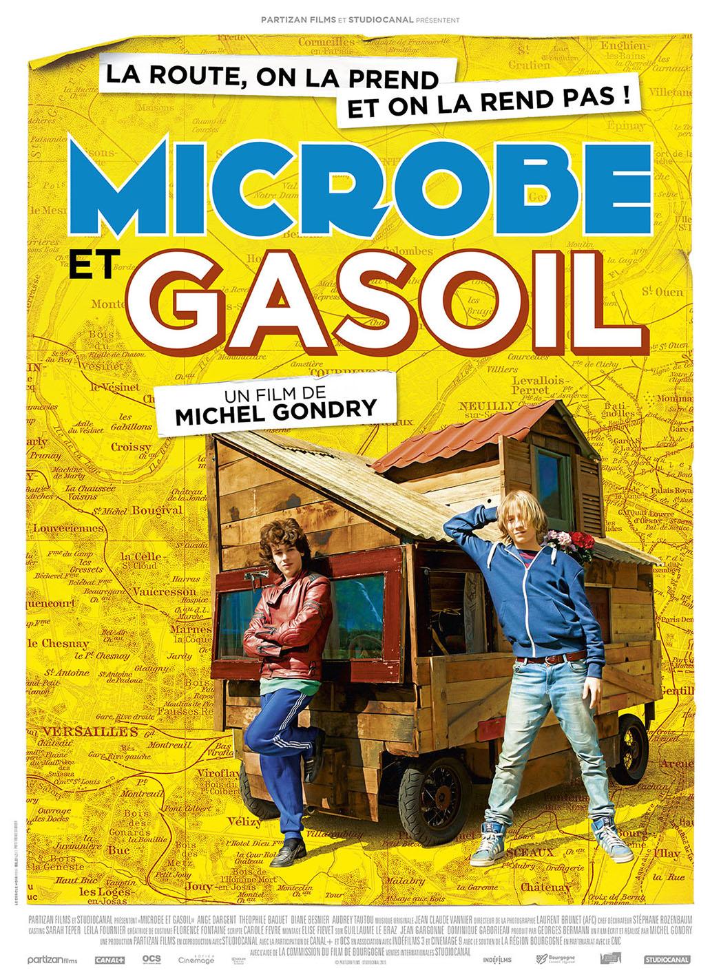 Microbe & Gasoline Key Art Poster - P 2015