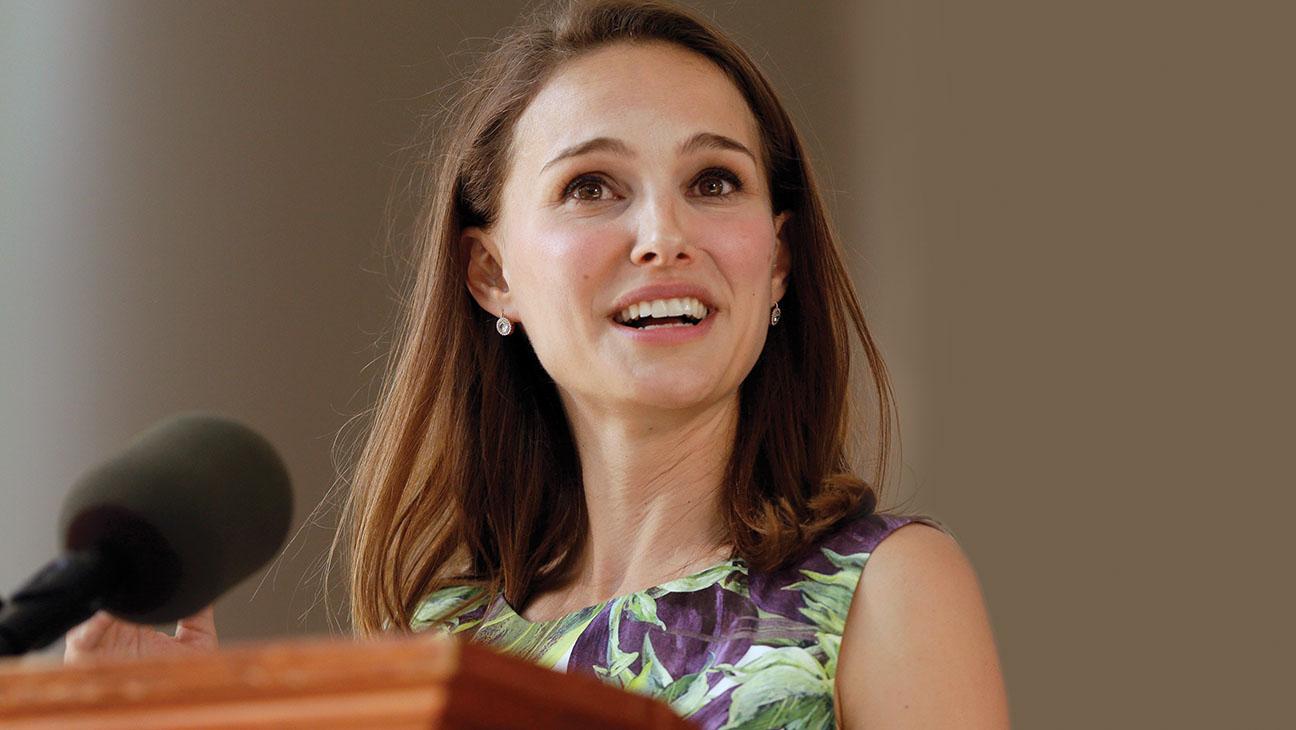 Natalie Portman Class Day - H 2015
