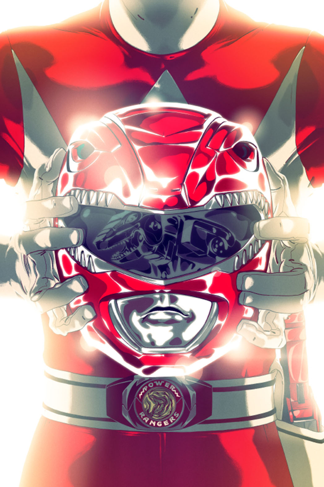 Power Rangers Red Ranger - P 2015