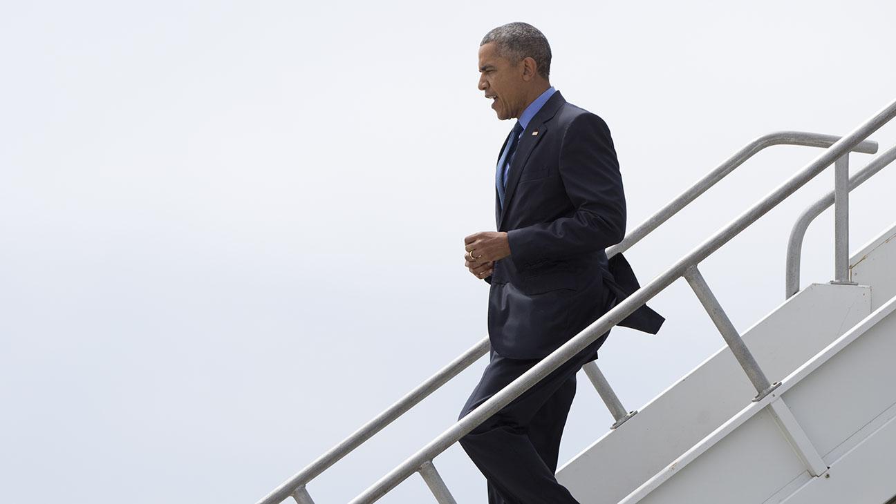 President Obama Los Angeles - H 2015