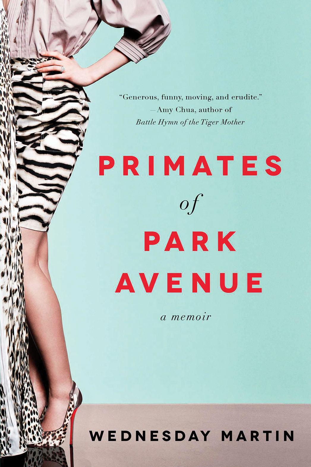 Primates of Park Avenue Cover - P 2015