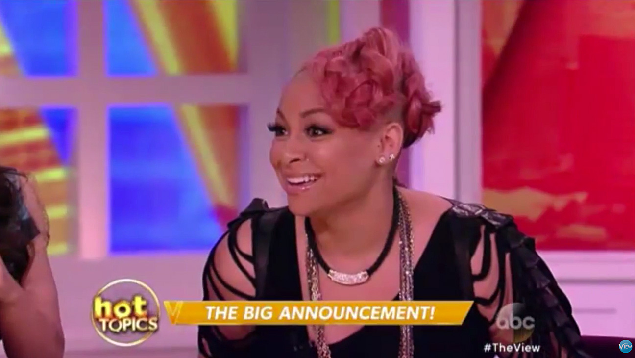 Raven Symone The View - H 2015