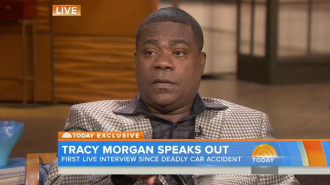 Tracy Morgan on 'Today' - H 2015
