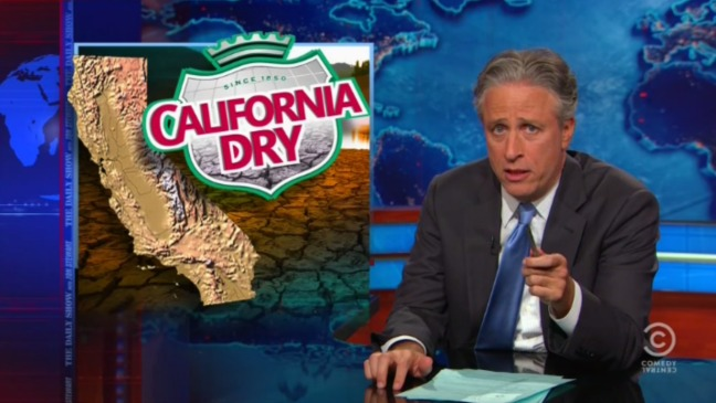 Daily Show California Drought Still - H 2015