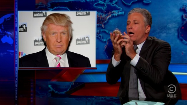 Daily Show Trump Hair Still - H 2015