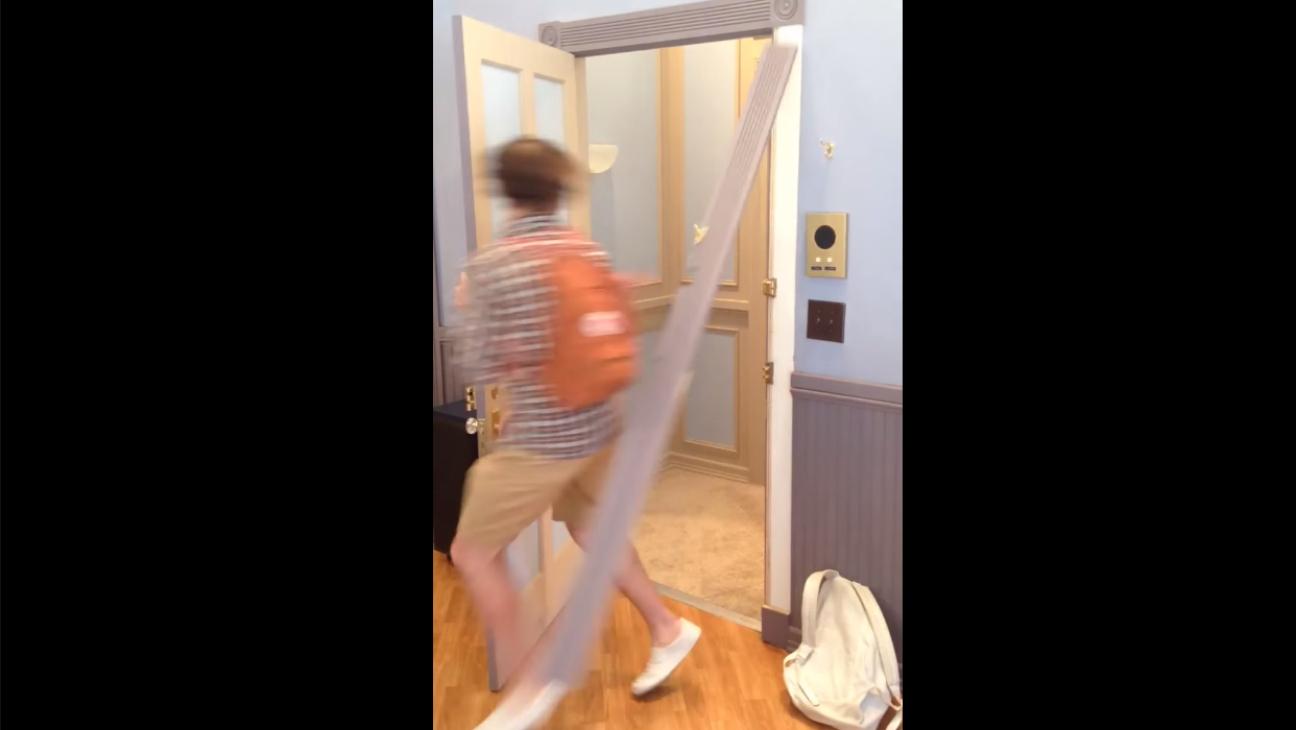 Seinfeld Fan Breaks Apartment — H 2015