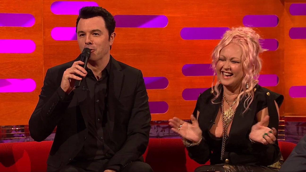 Seth MacFarlane Sings Cyndi Lauper's Greatest Hits - H 2015