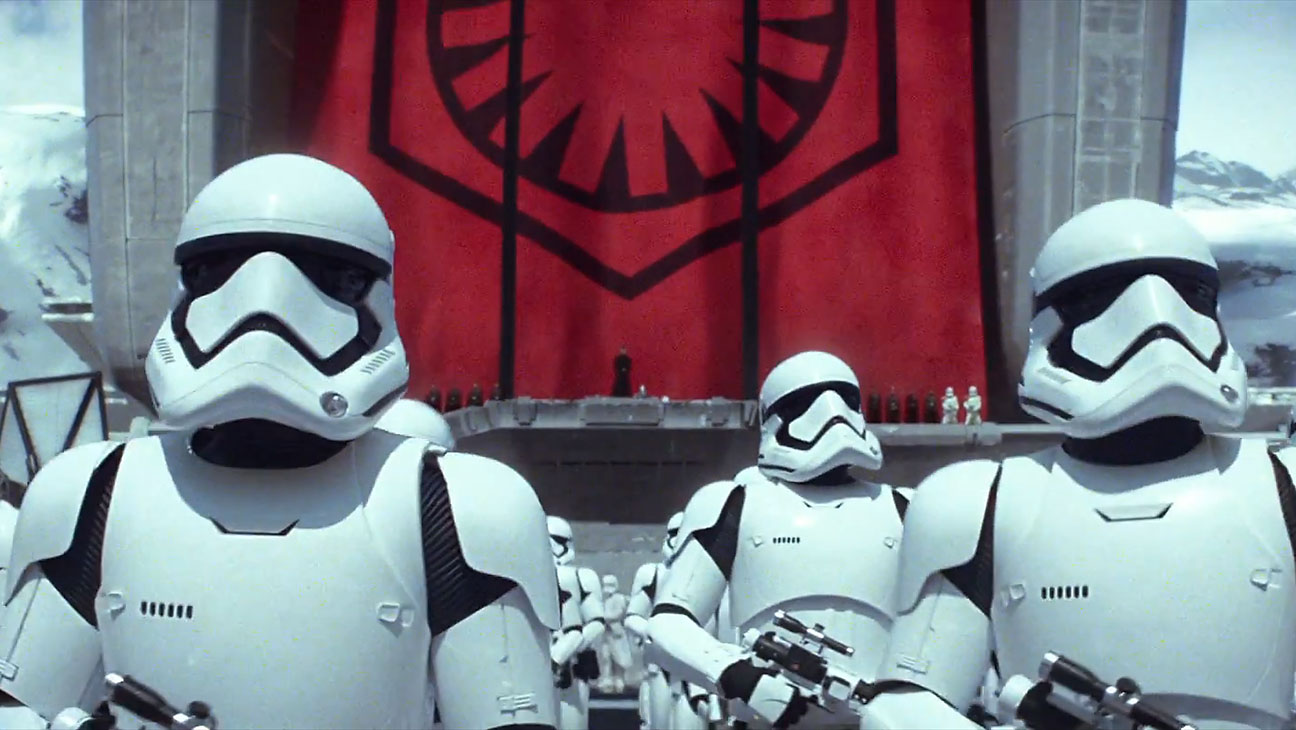 Star Wars Force Awakens Stormtroopers - H 2015