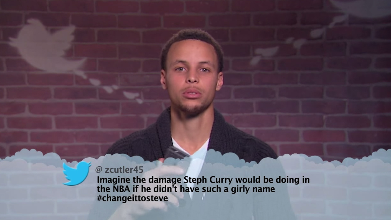 Stephen Curry Jimmy Kimmel Live H 2015