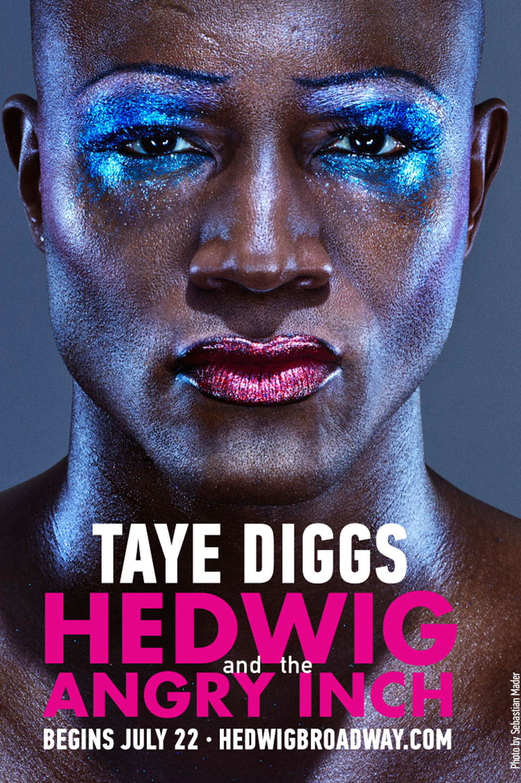 Taye Diggs Hedwig and the Angry Inch Poster - P 2015