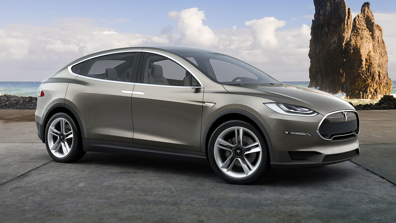 SUV LOOKING THING FROM TESLA - H 2015
