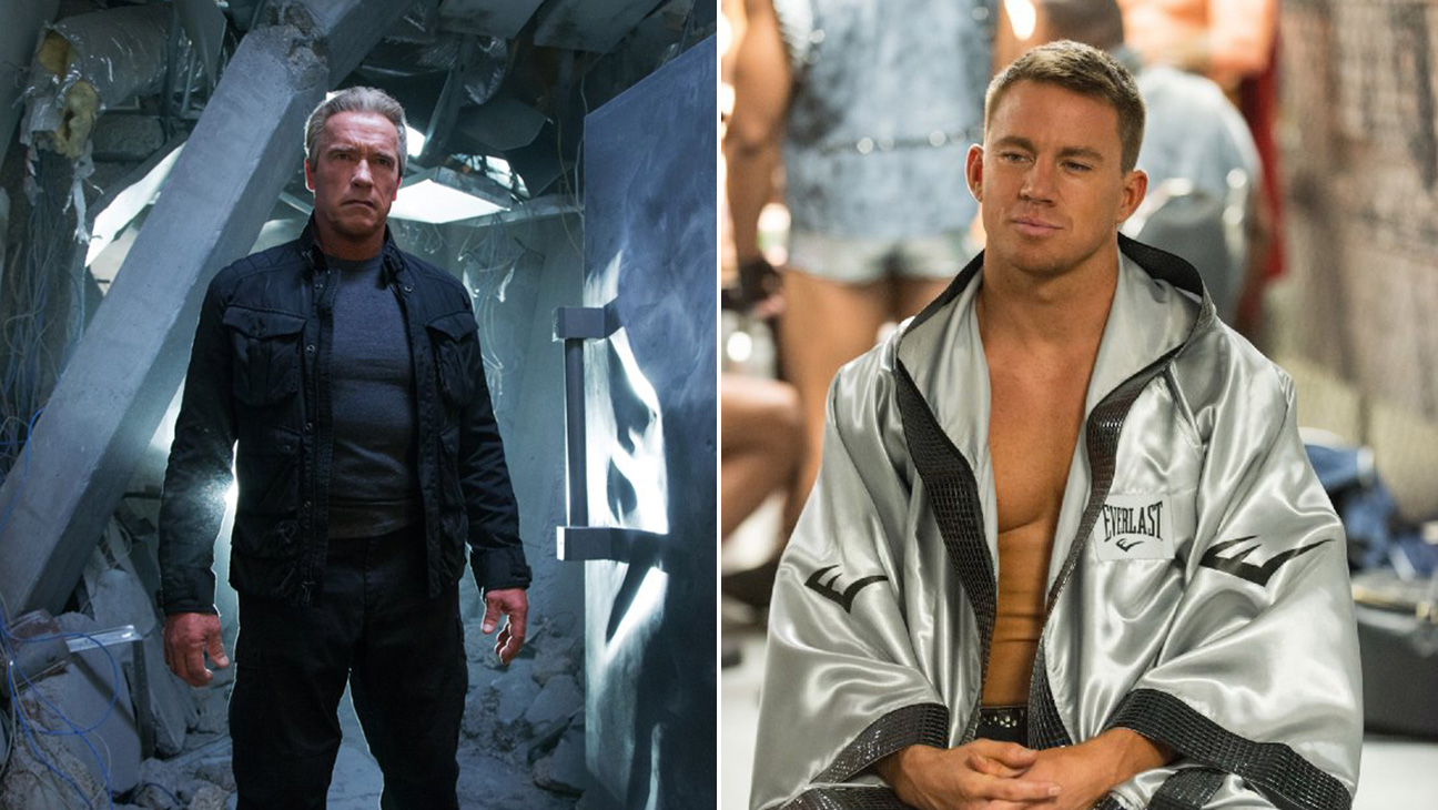 Terminator: Genisys, Magic Mike XXL Split - H 2015