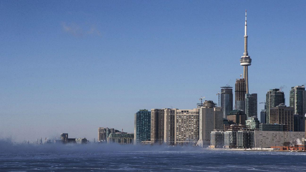 Toronto Skyline - H 2015