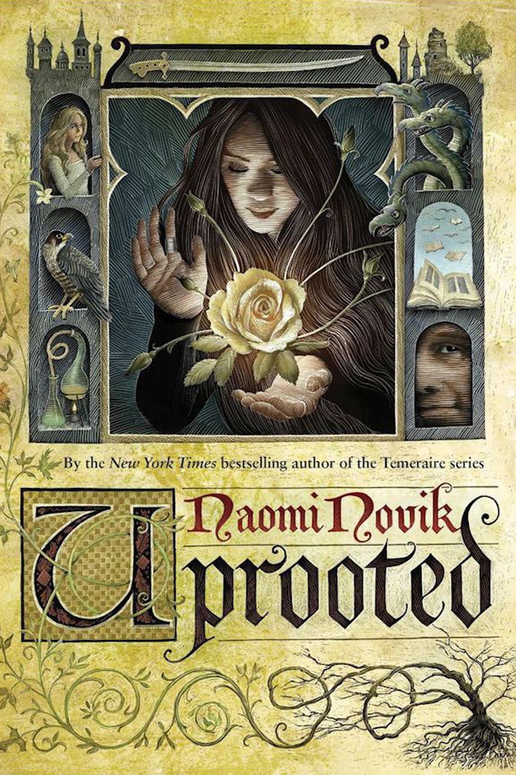 Temeraire Uprooted Cover - P 2015