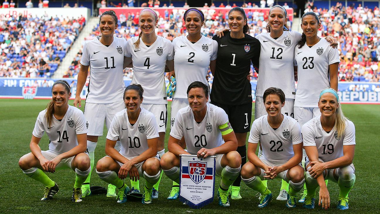 US Ladies Soccer Team - H 2015