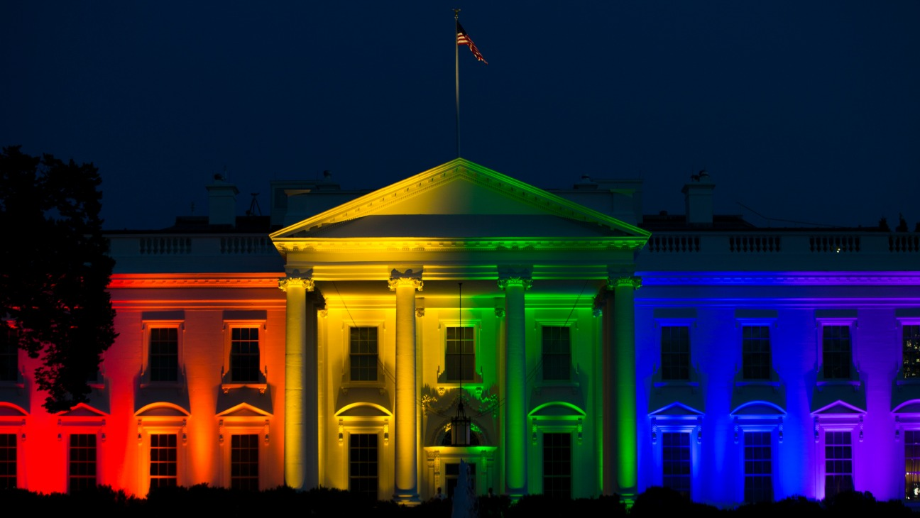 White House Rainbow - H - 2015