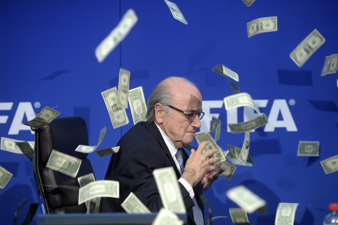 Sepp Blatter Money H 2015