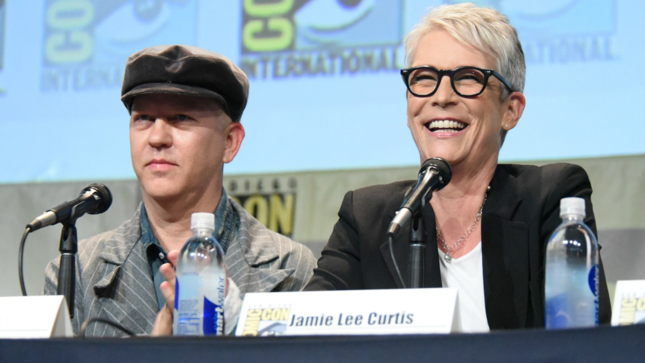 Ryan Murphy Jamie Lee Curtis Comic-Con - H 2015