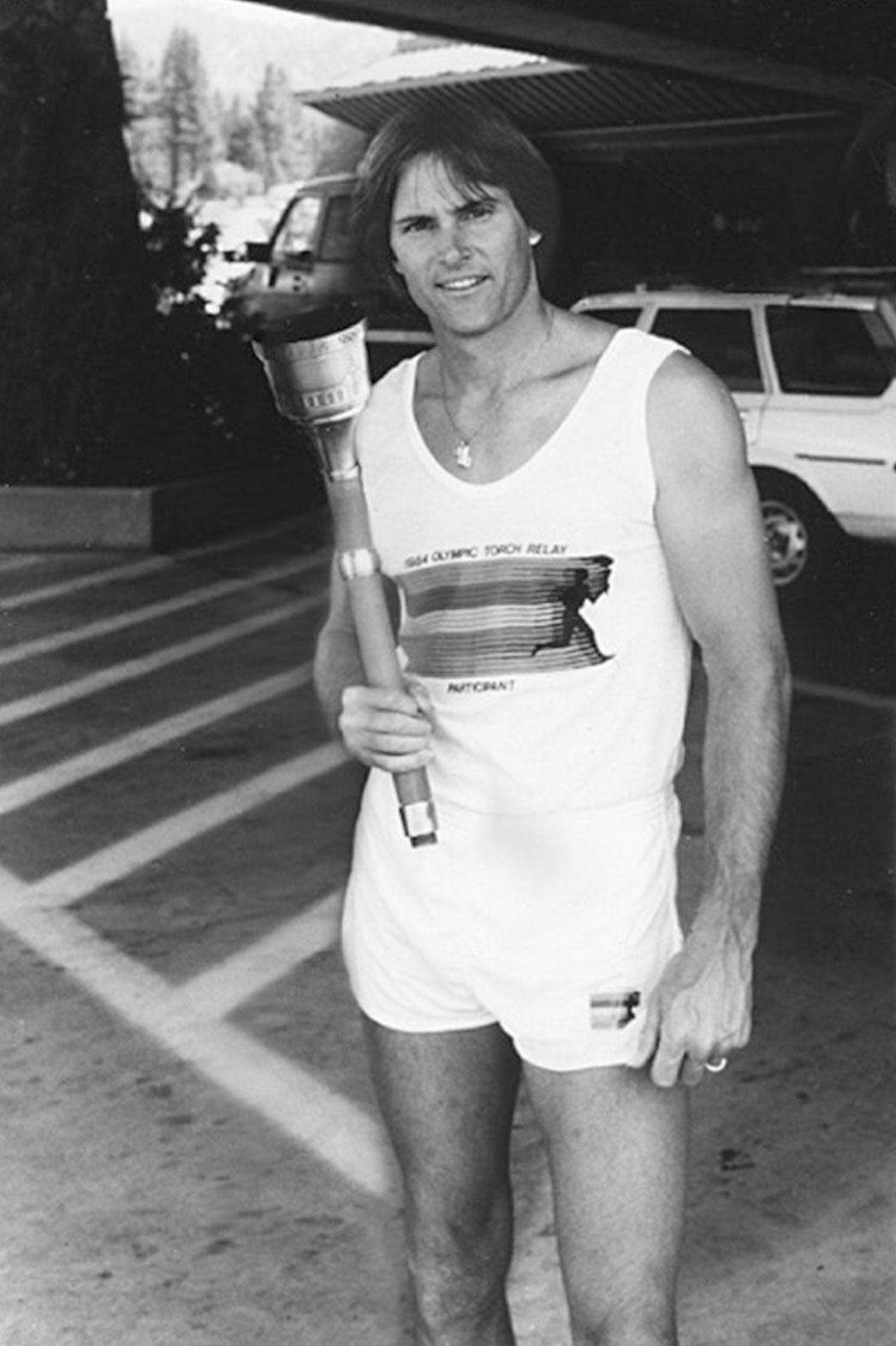 Bruce Jenner, 1984 Olympic Torch - P 2015