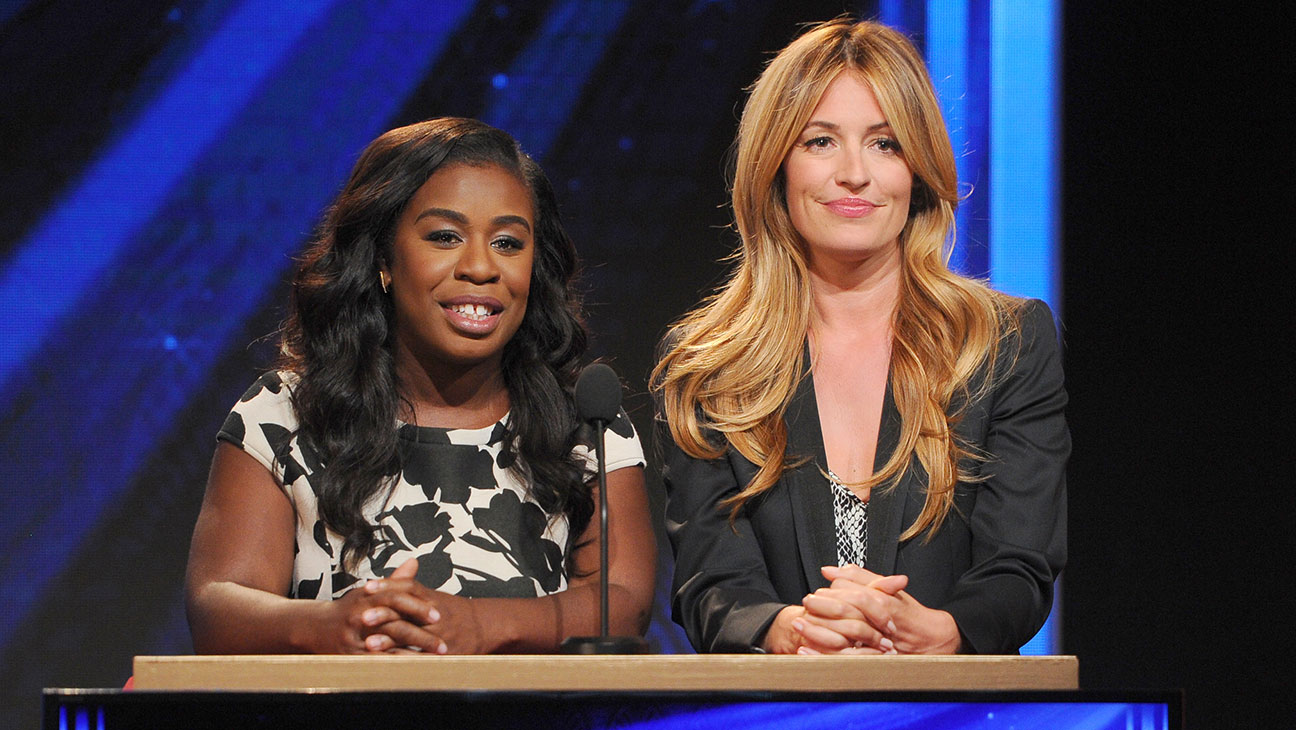 Cat Deeley, Uzo Aduba, 2015 Emmy Noms - H 2015