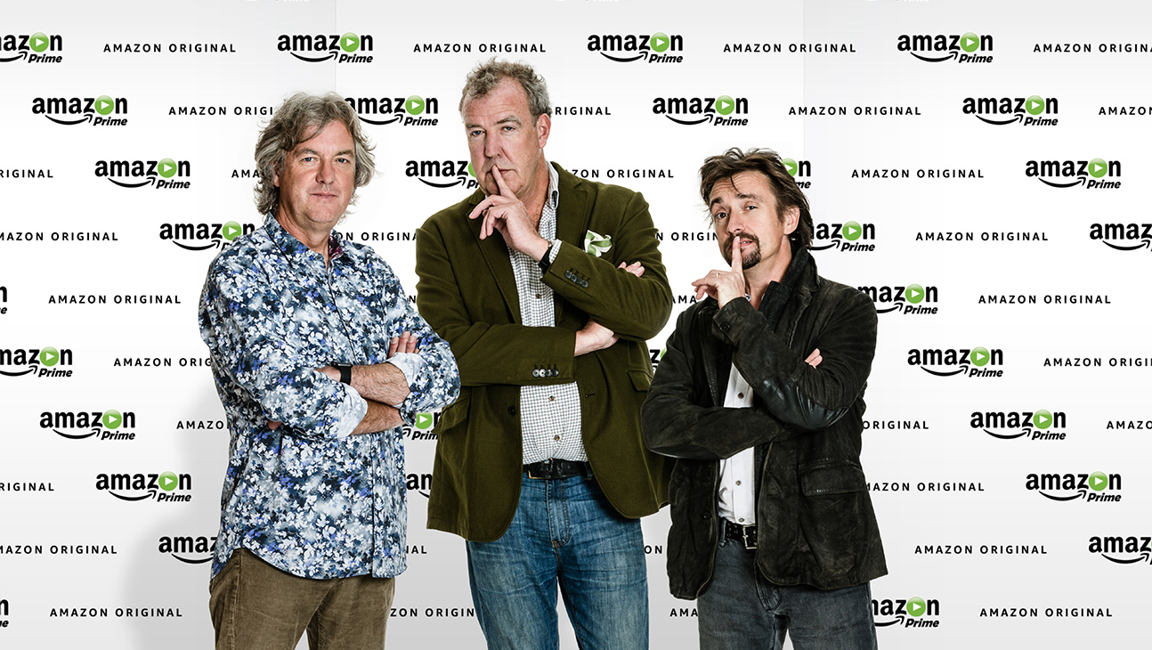 Jeremy Clarkson, James May, Richard Hammond, Amazon Prime