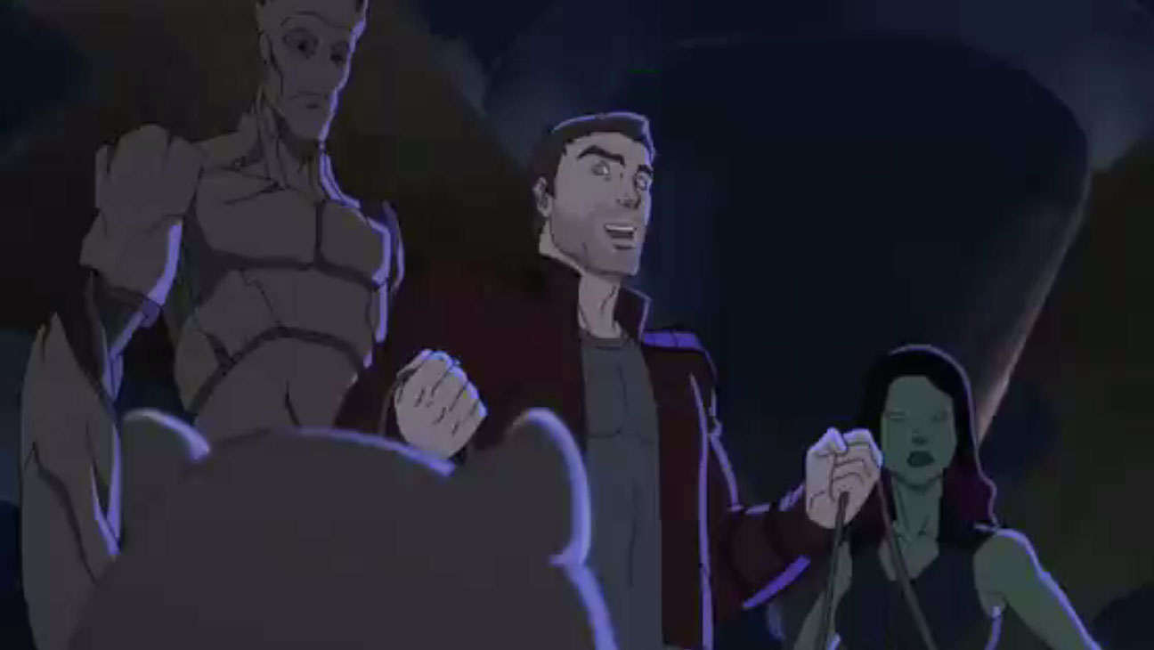 Guardians of the Galaxy Animated Screengrab - H 2015