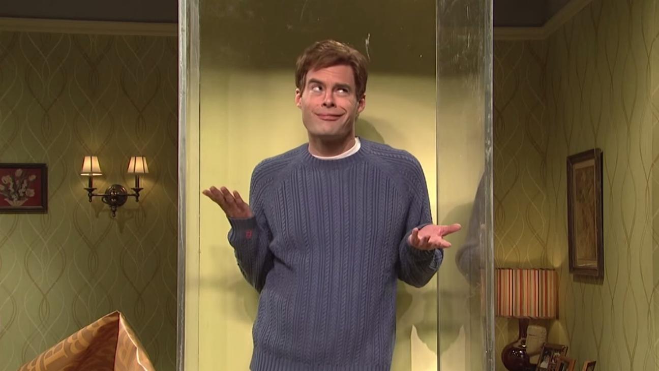 Bill Hader as Alan in SNL — H 2015