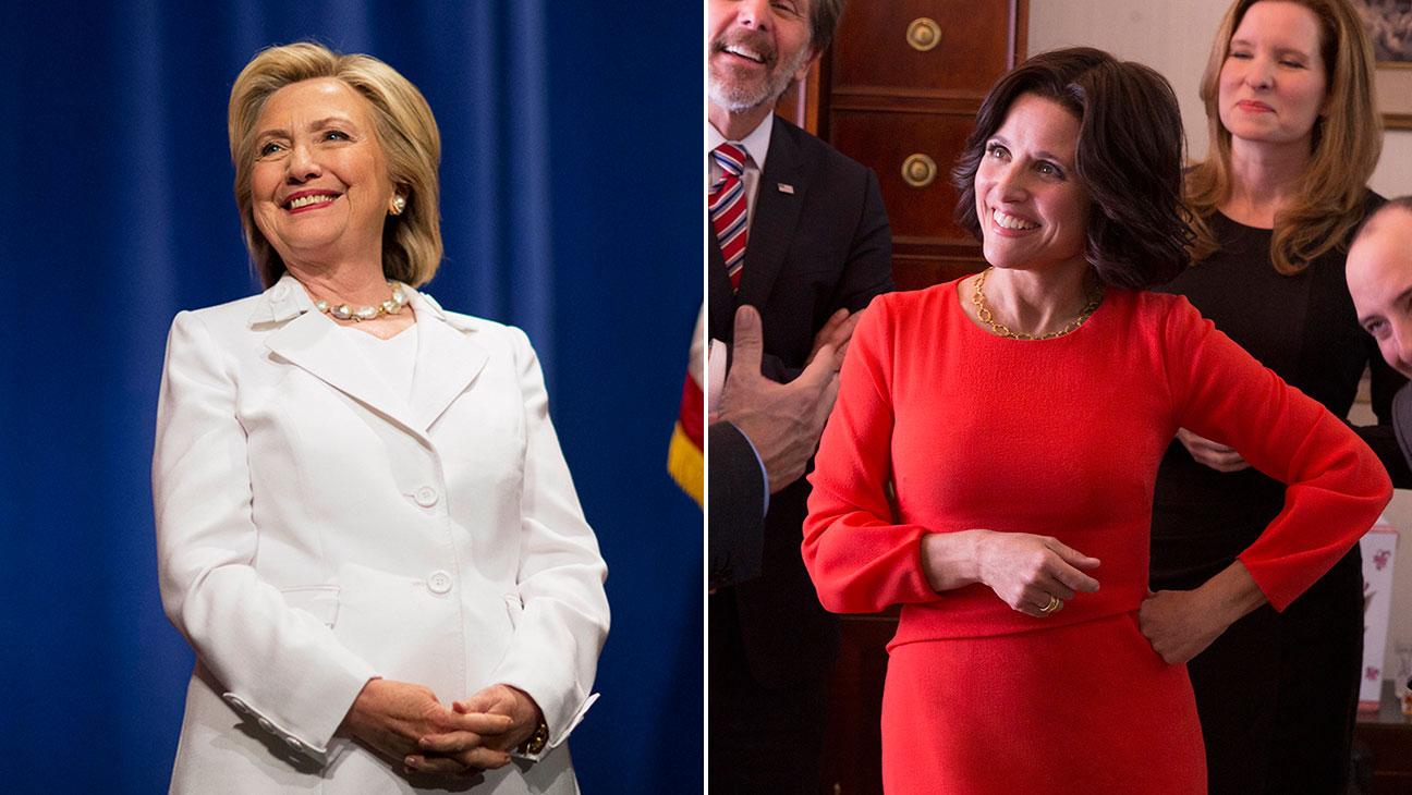 Hillary Clinton, Selina Meyer Split - H 2015