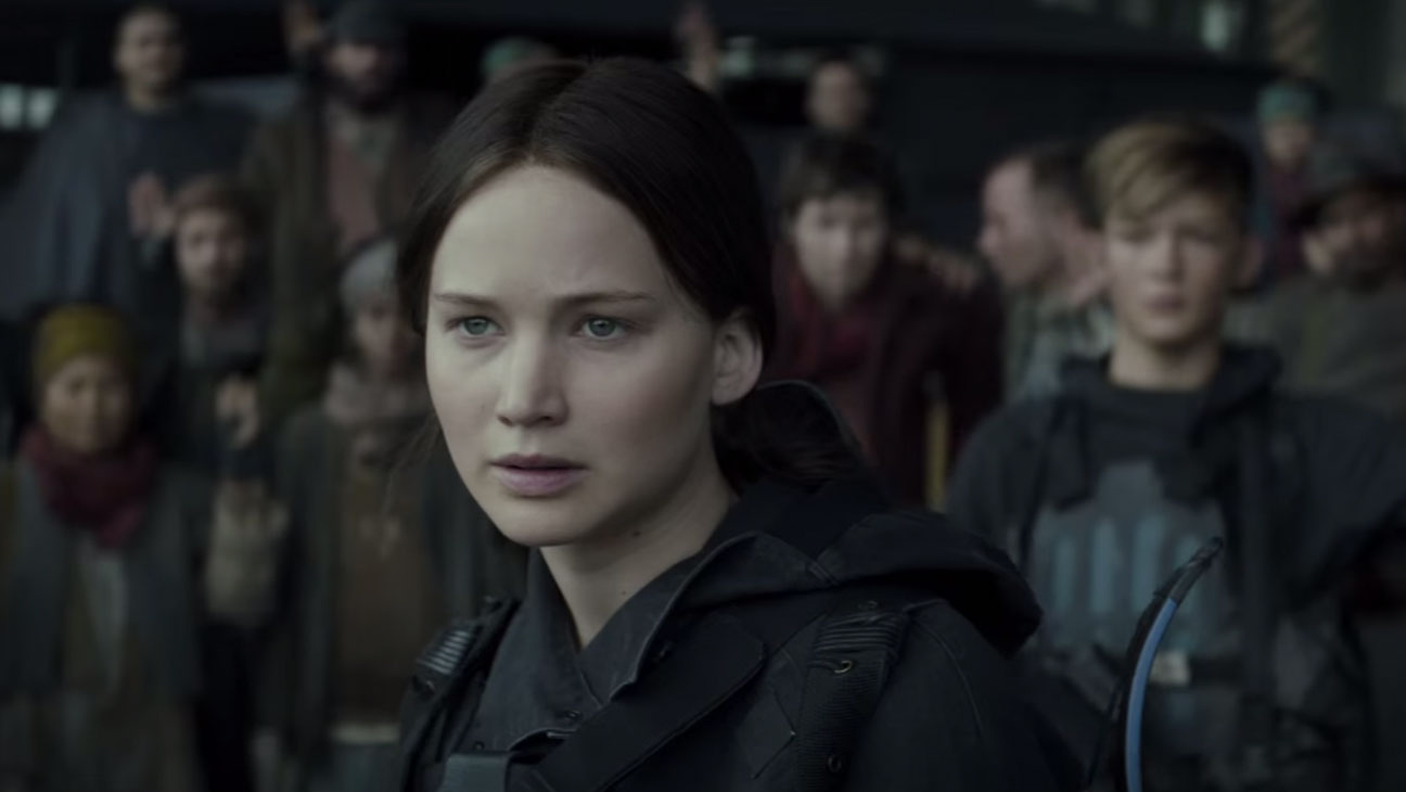 The Hunger Games: Mockingjay Part 2 Trailer Still - H 2015