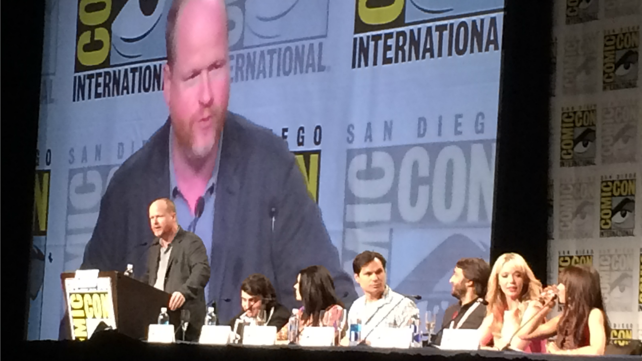 Joss Whedon Comic Con - H - 2015