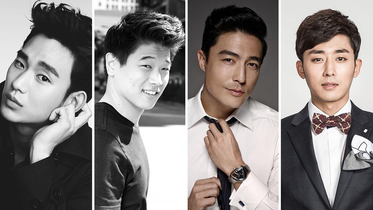 Kim Soo-Hyun Ki Hong Lee Daniel Henney Son Ho-Jun Split - H 2015