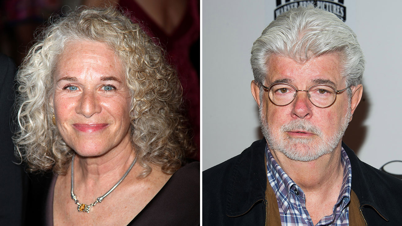 George Lucas, Carole King Split - H 2015