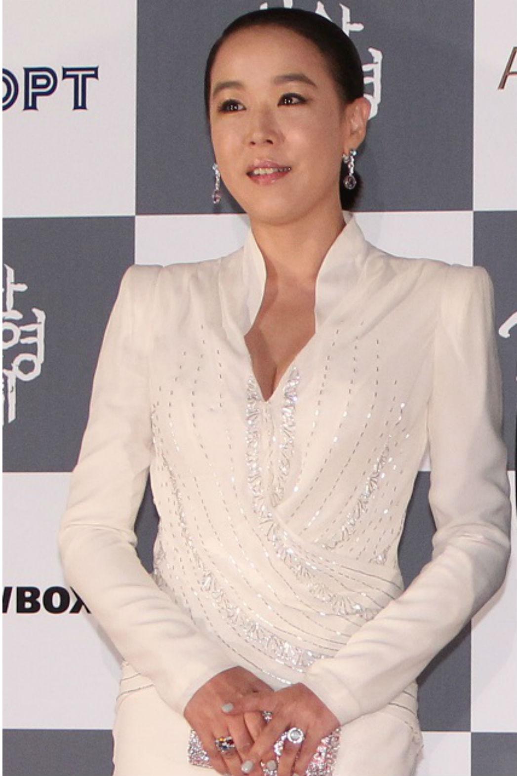 South Korean actress Kang Soo-yeon - P 2015