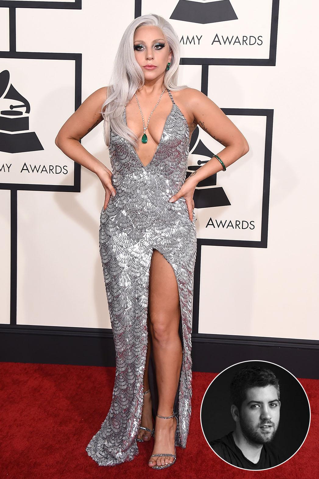 Lady Gaga Brandon Maxwell Inset - P 2015