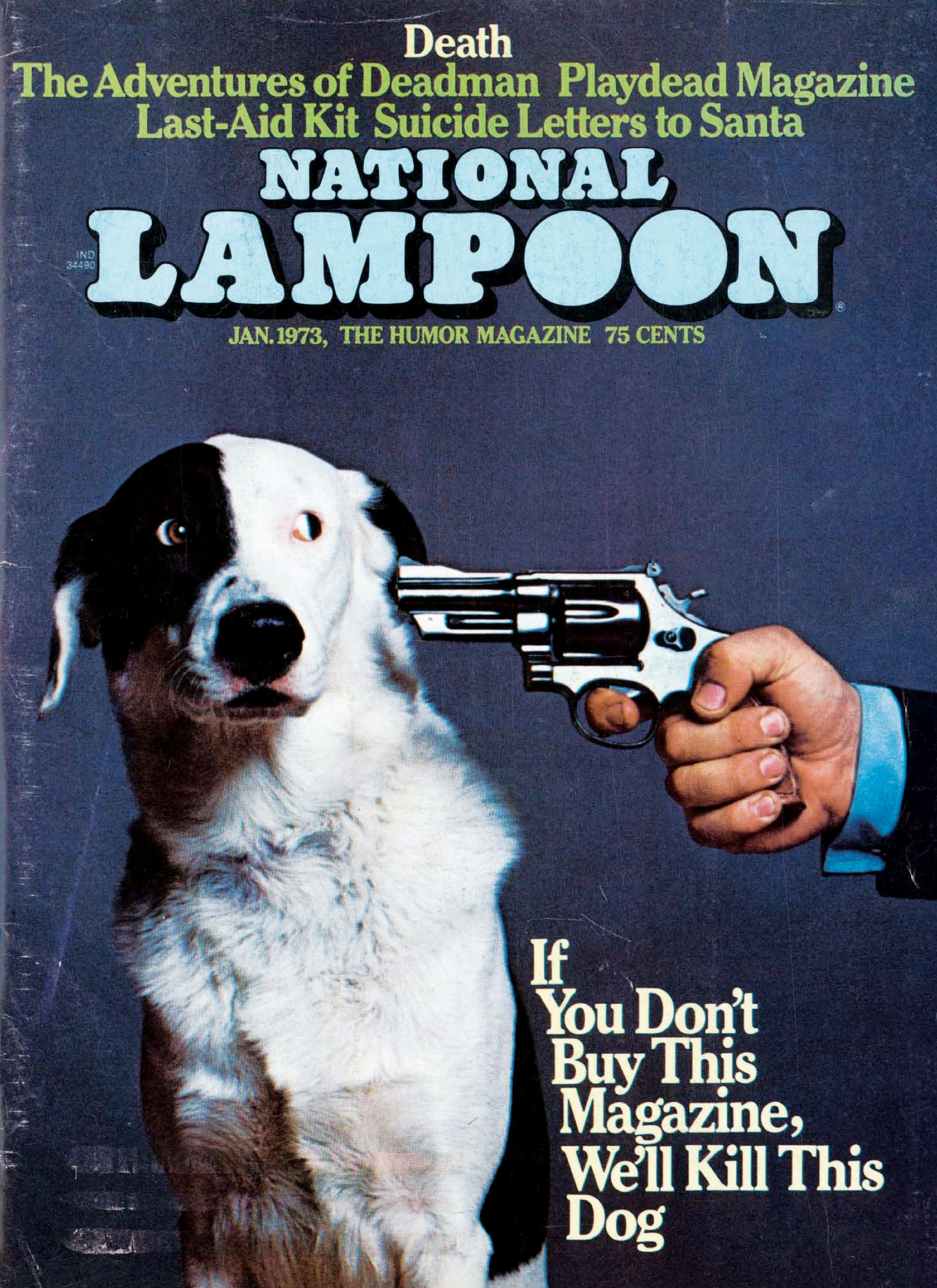 1973 Lampoon Magazine Cover - P 2015